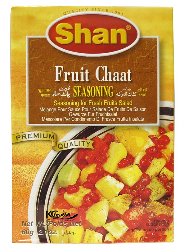 how to make fruit chaat masala
