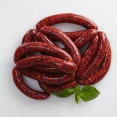 Halal beef sausages