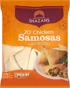 Shazans Chicken samosa