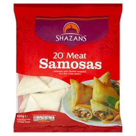 Shazans Meat Samosa